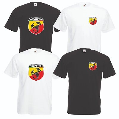 Fiat Abarth T-Shirt Car Enthusiast VARIOUS SIZES & COLOURS Abarth Scorpion 500