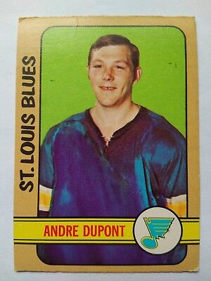 1972-73 OPC O-Pee-Chee #16 Andre Dupont St. Louis Blues - VG