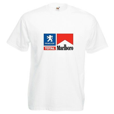 Peugeot Total T-Shirt Rally Car Enthusiast VARIOUS SIZES & COLOURS