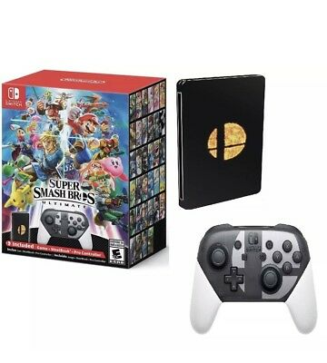 **BRAND NEW** Super Smash Bros. Ultimate Special Edition For The Nintendo Switch