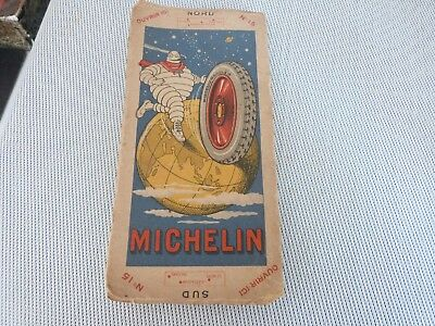 Ancien Guide Michelin Annees 30 40 Carte Entoilee