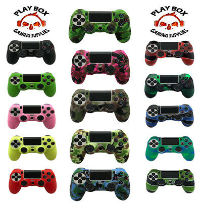 PRO GRIP Camouflage Silicone Rubber Case Cover Skin for PS4 /slim/Pro Controller