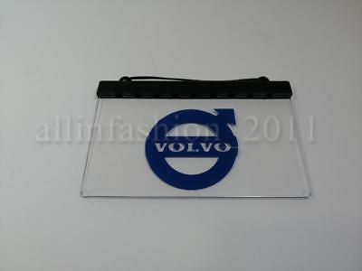 1x Blue 24V LED Neon Cabin Interior Light Sign Plate for VOLVO Trucks LED TABLE