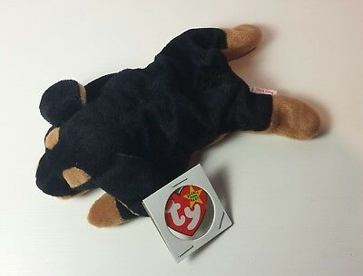 69f8b9164cc NWT MINT DOBY the Doberman Dog Ty Beanie Baby 3rd Generation tush new with  tag