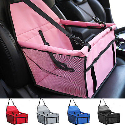 Pet Travel Safe Carry Bag Basket Dog Booster Car Seat Cover Pad Mat Waterproof
