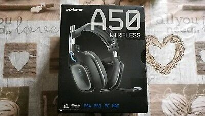 Astro A50 Gen. 2 Blau/Schwarz Gaming Headset Multiplattform Edition