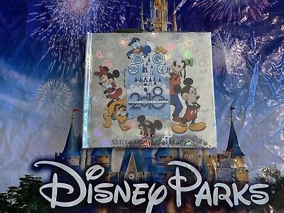 🔴Walt Disney World Parks 2018 Autograph and Photo Book with Pen NEW SEALED