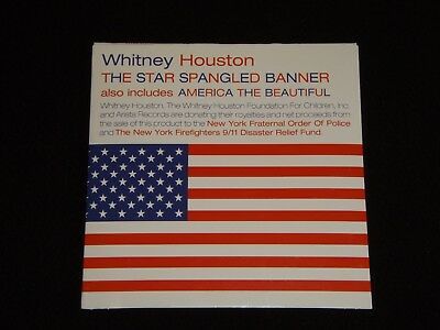 Star Spangled Banner & America the Beautiful by Whitney Houston (Arista CD)