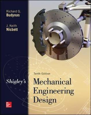 4DAYS DELIVERY - Shigley's Mechanical Engineering Design by Budynas,10TH US ED.