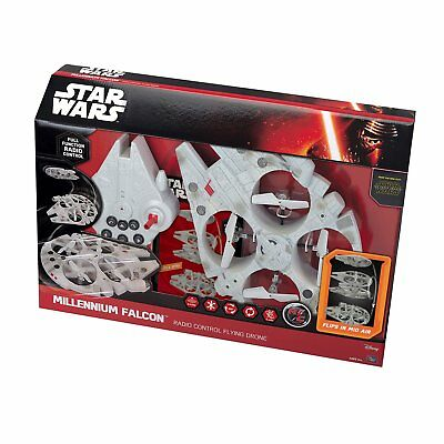 Star Wars Millennium Falcon Radio Control Flying Drone. The Force awakens. New.