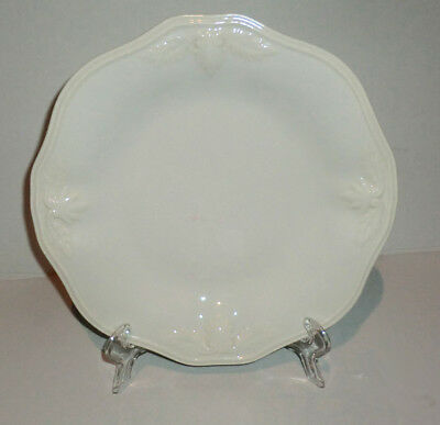 """New Lenox Butler's Pantry Gourmet White 9-1/2"""" Individual Accent Plate"""