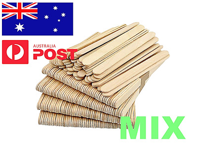 ***WOODEN CRAFT STICKS*** PADDLE POP POPSICLE Coffee Stirrers Ice Cream