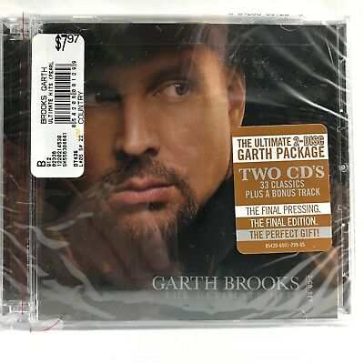 Garth Brooks The Ultimate Hits Greatest Hits Brand New