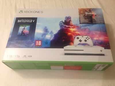 Xbox One S 1TB Battlefield V (5) Deluxe Edition. New and Sealed