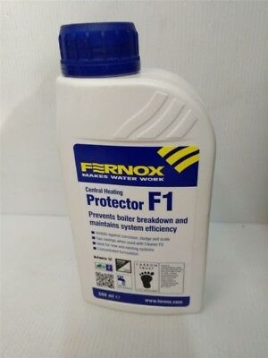 8 bottles FERNOX F1 PROTECTOR 500ML