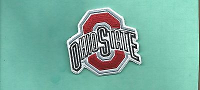 New 2 7/8 X 3 Inch Ohio State Iron On Patch Free Shipping