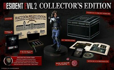 Resident Evil 2 Remake Collectors Edition (With Keys and Badge set) Xbox One