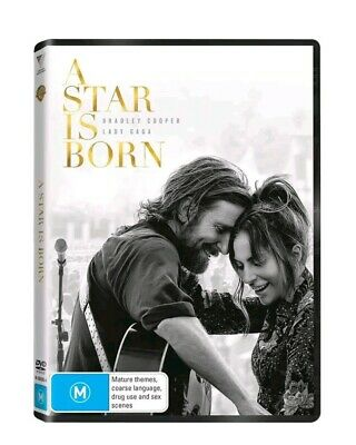 A STAR IS BORN DVD (2018): Lady Gaga, Bradley Cooper   **FREE DELIVERY**