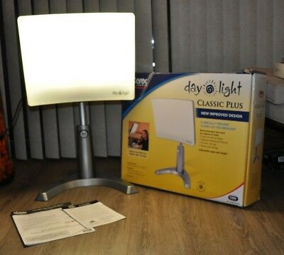 Carex Day-Light Classic Plus Bright Light Therapy Lamp - 10,000 LUX - Sun Lamp M