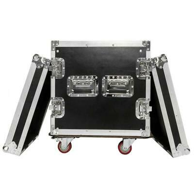 New High Quality 19 Inch Space Rack Case Double Door 10U DJ Equipment Cabinet