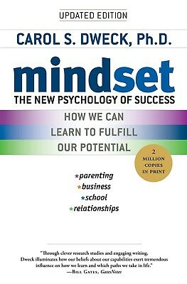 Mindset The New Psychology of Success by Carol S.Dweck Paperback NEW 0345472322