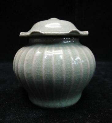 Unique Chinese Old Handmade Porcelain Pot with Cover Good Condition!