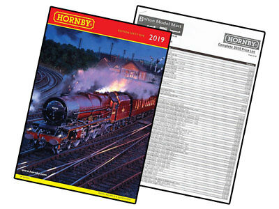 Hornby 2019 Product Catalogue & Price List - R8157 00 Model Railway