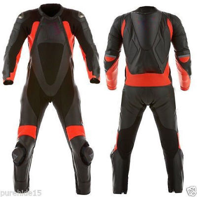 XPRO Mens Motorcycle Racing Leather Suit Motorbike Leather Biker Suit Armors