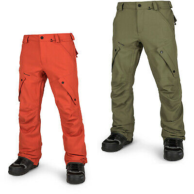2018 NWT MENS VOLCOM ARTICULATED SNOW PANTS  210 military modern ... 0544a2a5e