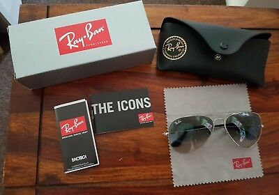 d9664cd3934 Ray Ban Orb 3025 003 32 58 Sun Glasses Worn Very Little Fantastic Condition