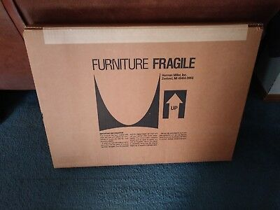 """Herman Miller Ethospace 16"""" x 24"""" Grey Finished Wall Tile E1420.1624 PSG - 2 NEW"""