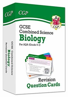GCSE Combined Science Biology Revision Question Flash Cards AQA Paperback CGP