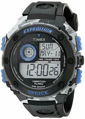 5fa07d617acd MEN S TIMEX EXPEDITION Shock XL Vibrating Alarm Watch T49950 ...