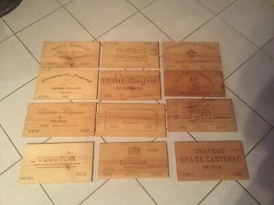 LOT DE 12 ESTAMPES FAÇADE BOIS DE VIN LYNCH BAGES HAUT BAGES POMEROL LAGUNE etc