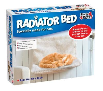 Cat Radiator Bed Specially Made for Cats [Cream]