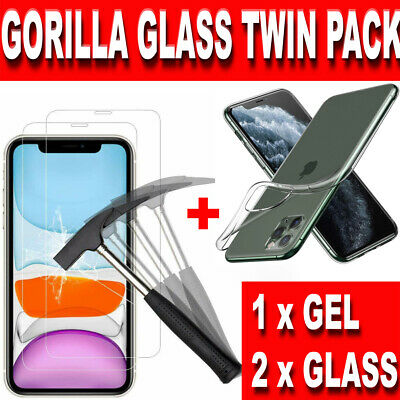 Screen Protector for New iPhone XR XS Max XS X Gorilla Tempered Glass