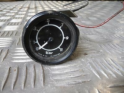 Classic Bus Coach Truck Smiths Air Oil Pressure Gauge PG1302/19 Bedford Plaxton