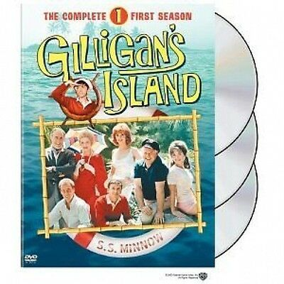 Gilligan's Island - The Complete First Season (DVD, 2004, 3-Disc Set)