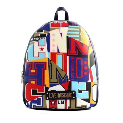 80059d8557 Borsa zainetto Love Moschino donna pelle multicolor fantasia stampata  graphic