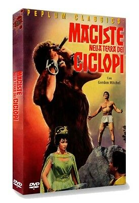 MACISTE IN THE LAND OF THE CYCLOPS (English subtitled) DVD