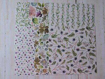Stampin Up Paper -- Frosted Florals