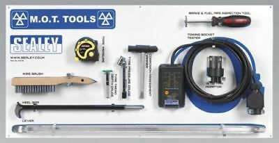Sealey MOTBKIT Mot Tool Board With Tools Diagnostic Service Equipment Supplies