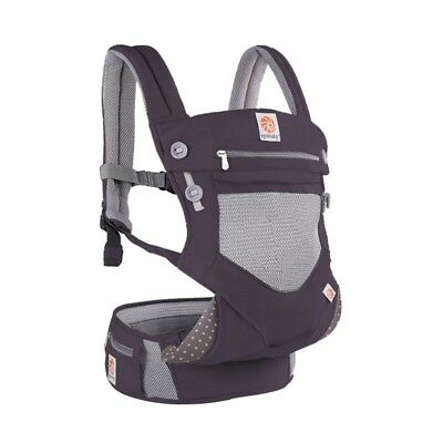 Egobaby - 360 Degrees - New 6 in 1 Baby Carrier - Comfortable Cool Air Flow Mesh
