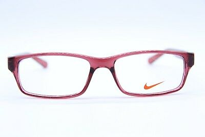 65982960bcd NEW! NIKE 5534 610 Authentic Crystal Gym Red Eyeglass Frames 48-14 ...