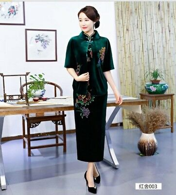 Ladies Chinese style 4Colors EheonBsam Cheongsam Cape Pashmina Womens Dresses x