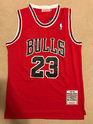 online store b6529 919ac MICHAEL JORDAN #23 Red Chicago Bulls Kids/Youth Jersey ...