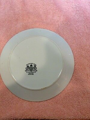 """Antique J G Meakin White English Ironstone China 10"""" Dinner Plate c. 1890's"""