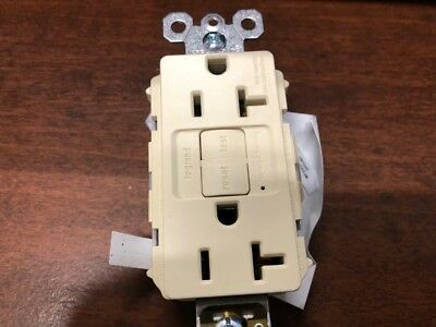 Legrand 20971 Radiant GFCI Duplex Receptable with Self Test (lot of 2)