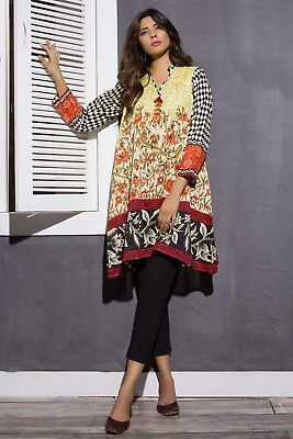 Other Women's Clothing Maria B Sana Safinaz Khaadi 100% Original Embroidred Designer Unstitched Suit Women's Clothing