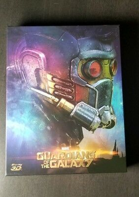 NOVAMEDIA NE#15 Guardians of the Galaxy Steelbook Blu-Ray Full Slip #397 of 800.